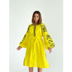 Пошита жіноча туніка – вишиванка БОХО для вишивання нитками Мрія ТЕ002лЖ4201_009_002