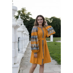 Пошита жіноча туніка – вишиванка БОХО для вишивання нитками Магія ТЕ005лЖ4204_011_176