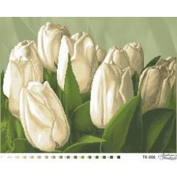 Набір для вишивки бісером Барвиста Вишиванка Тюльпани 55х43 ТК006пн5543k