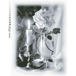 Набір бісеру Preciosa для вишивки бісером до схеми для вишивання Свічка ТК010пн4965b