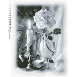 Схема для вишивки бісером Барвиста Вишиванка Свічка 49х65 ТК010пн4965