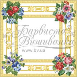Набір бісеру Preciosa для вишивки бісером до схеми для вишивання скатертини Безконечник ТР039аБ5858b