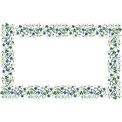 Набір для вишивки бісером Барвиста Вишиванка скатертини Весняні Волошки 182х115 ТР040аБ9999k