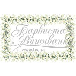 Набір бісеру Preciosa для вишивки бісером до схеми для вишивання скатертини Весняні Ромашки ТР041аБ9999b