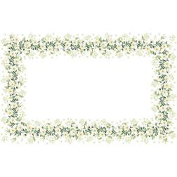 Набір для вишивки бісером Барвиста Вишиванка скатертини Весняні Ромашки 182х115 ТР041аБ9999k