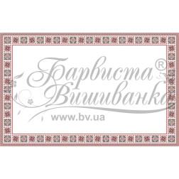 Набір бісеру Preciosa для вишивки бісером до схеми для вишивання скатертини Український орнамент ТР048аБ9999b