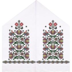 Набір бісеру Preciosa для вишивки бісером до схеми для вишивання Рушник під Коровай ТР050пн4599b