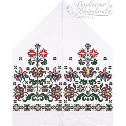 Схема для вишивки бісером і нитками Барвиста Вишиванка Рушник для Весільних Ікон 30х120 ТР051пн3099