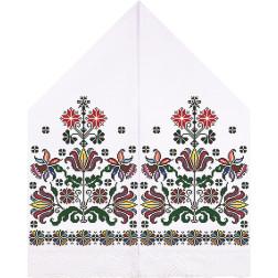 Набір для вишивки нитками Барвиста Вишиванка Рушник для Весільних Ікон 30х120 ТР051дн3099i