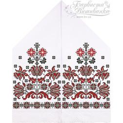 Схема для вишивки бісером і нитками Барвиста Вишиванка Рушник для Весільних Ікон 30х120 ТР055пн3099