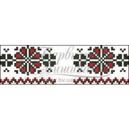 Набір ниток DMC для вишивки хрестиком до схеми для вишивання Рушничок для Весільних букетів та декору ТР056пн1025h
