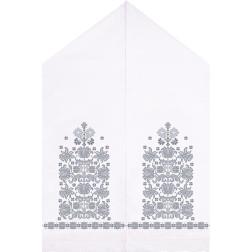 Набір ниток DMC для вишивки хрестиком до схеми для вишивання Весільний рушник ТР057пн5099h