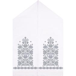 Набір для вишивки нитками Барвиста Вишиванка Весільний рушник 50х250 ТР057дн5099i