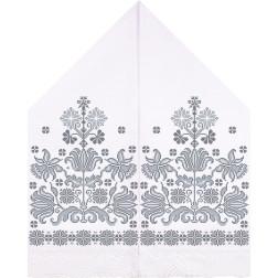 Набір для вишивки нитками Барвиста Вишиванка Рушник для Весільних Ікон 30х120 ТР059дн3099i