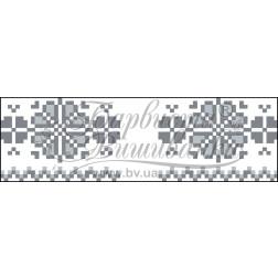 Набір для вишивки бісером Барвиста Вишиванка Рушничок для Весільних букетів та декору 10х25 ТР060пн1025k