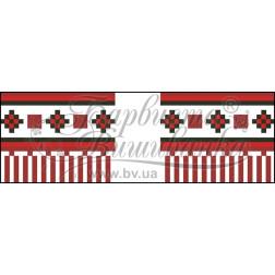 Набір бісеру Preciosa для вишивки бісером до схеми для вишивання Рушничок для Весільних букетів та декору ТР064ан1025b