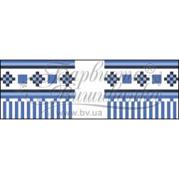 Набір бісеру Preciosa для вишивки бісером до схеми для вишивання Рушничок для Весільних букетів та декору ТР068ан1025b