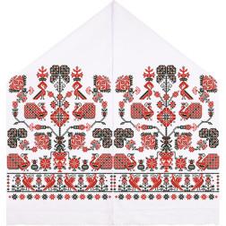 Набір бісеру Preciosa для вишивки бісером до схеми для вишивання Рушник під Коровай ТР070ан4599b