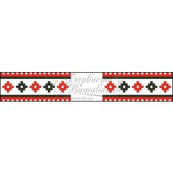 Набір бісеру Preciosa для вишивки бісером до схеми для вишивання Рушничок для Весільних букетів та декору ТР078ан1025b