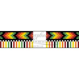 Набір бісеру Preciosa для вишивки бісером до схеми для вишивання Рушничок для Весільних букетів та декору ТР082ан1025b