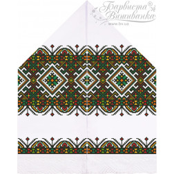 Набір бісеру Preciosa для вишивки бісером до схеми для вишивання Рушник для Весільних Ікон ТР085ан3099b