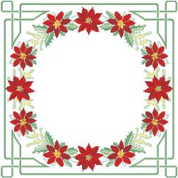 Набір ниток DMC для вишивки хрестиком до схеми для вишивання Новорічна скатертина Фантазія ТР150аБ5252h