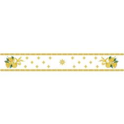Набір ниток DMC для вишивки хрестиком до схеми для вишивання Новорічна скатертина-доріжка Дзвіночки ТР151аБ9916h