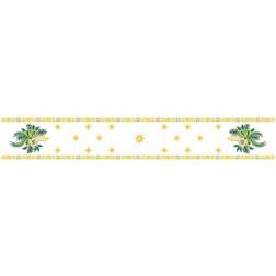 Набір ниток DMC для вишивки хрестиком до схеми для вишивання Новорічна скатертина-доріжка Різдвяні зіроньки ТР152аБ9916h