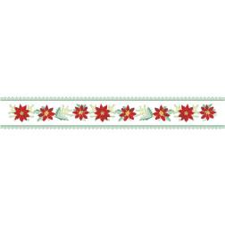 Набір ниток DMC для вишивки хрестиком до схеми для вишивання Новорічна скатертина-доріжка Фантазія ТР154аБ9916h