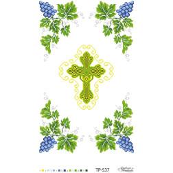 Схема для вишивки бісером Барвиста Вишиванка Спасівський рушник 32х50 ТР537пн3250