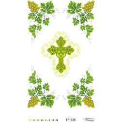 Схема для вишивки бісером Барвиста Вишиванка Спасівський рушник 32х50 ТР538пн3250