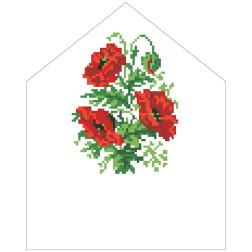 Набір для вишивки бісером Барвиста Вишиванка Спасівська хустинка на букет 20х25 ТР578пн2025k