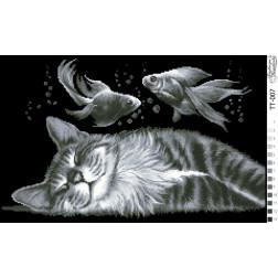 Схема для вишивки бісером Барвиста Вишиванка Щасливий сон 51х32 ТТ007пн5132