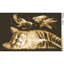 Схема для вишивки бісером Барвиста Вишиванка Щасливий сон 51х32 ТТ008пн5132