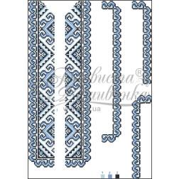 Комплект чеського бісеру Preciosa до дитячої вставки, вишиванки ВД002дБннннb