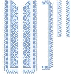 Заготовка дитячої вставки для сорочки на 6-12 років Мамина ніжність для вишивки бісером ВД005кБнннн