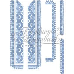 ВД005кБннннb Комплект чеського бісеру Preciosa до дитячої вставки, вишиванки