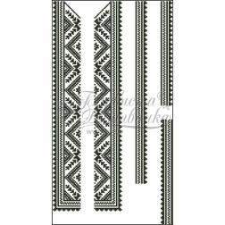ВД006кБннннh Комплект ниток ДМС до дитячої вставки, вишиванки