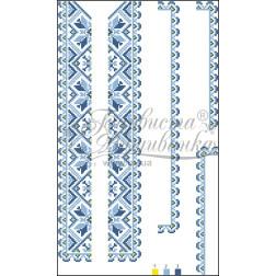 ВД007кБннннh Комплект ниток ДМС до дитячої вставки, вишиванки