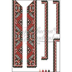 ВД010кБннннh Комплект ниток ДМС до дитячої вставки, вишиванки