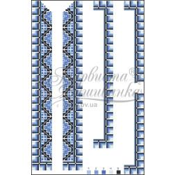 ВД012кБннннh Комплект ниток ДМС до дитячої вставки, вишиванки