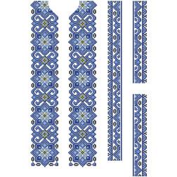 Заготовка дитячої вставки для сорочки на 6-12 років Елегантність для вишивки бісером ВД071кБнннн