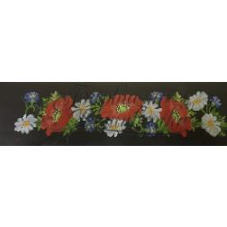 Комплект чеського бісеру Preciosa до жіночої вставки, вишиванки ВЖ001аЧннннb