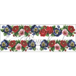 Комплект чеського бісеру Preciosa до жіночої вставки, вишиванки ВЖ004аБннннb