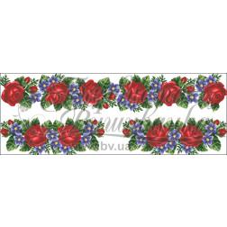 Комплект чеського бісеру Preciosa до жіночої вставки, вишиванки ВЖ005аБннннb