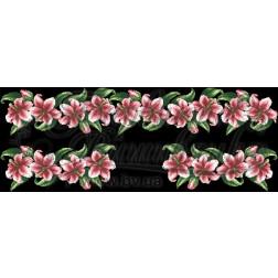 Комплект чеського бісеру Preciosa до жіночої вставки, вишиванки ВЖ202аЧннннb