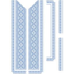 Заготовка чоловічої вставки для сорочки Мамина ніжність для вишивки бісером ВЧ005кБнннн