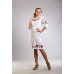 Плаття-вишиванка жіноче вишите бісером ЖП002кБ4604