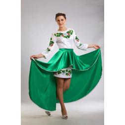 Плаття-вишиванка жіноче вишите бісером ЖП016кБ4404