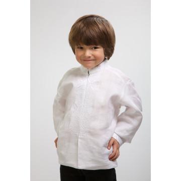 Сорочка для хлопчиків вишита машинною вишивкою гладдю ХС603лБ3405
